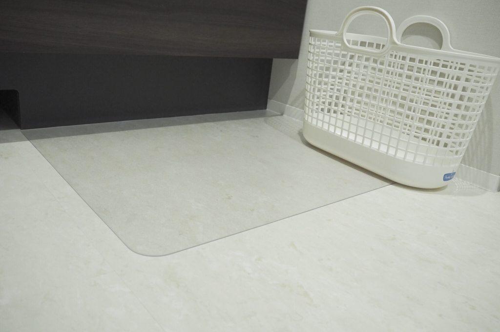 マット類の断捨離、足拭きマット、洗面所、絨毯、トイレ全部捨てた
