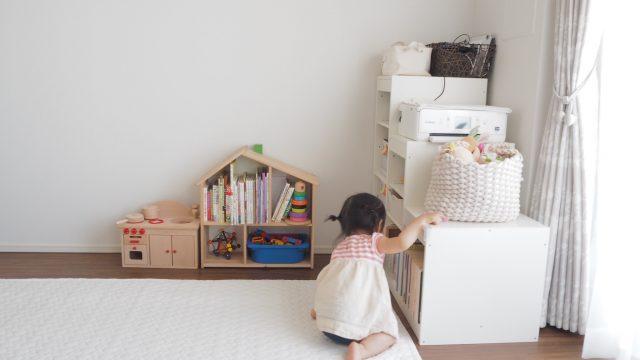 IKEA Trofastの置き方を工夫した子供部屋レイアウト