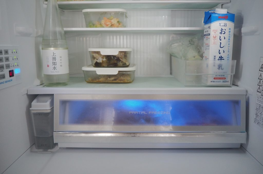 パナソニック冷蔵庫の微凍結パーシャルは共働き家庭でこそ活用すべき